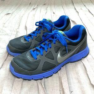 Nike Men's Revolution Athletic Sneakers Black 11